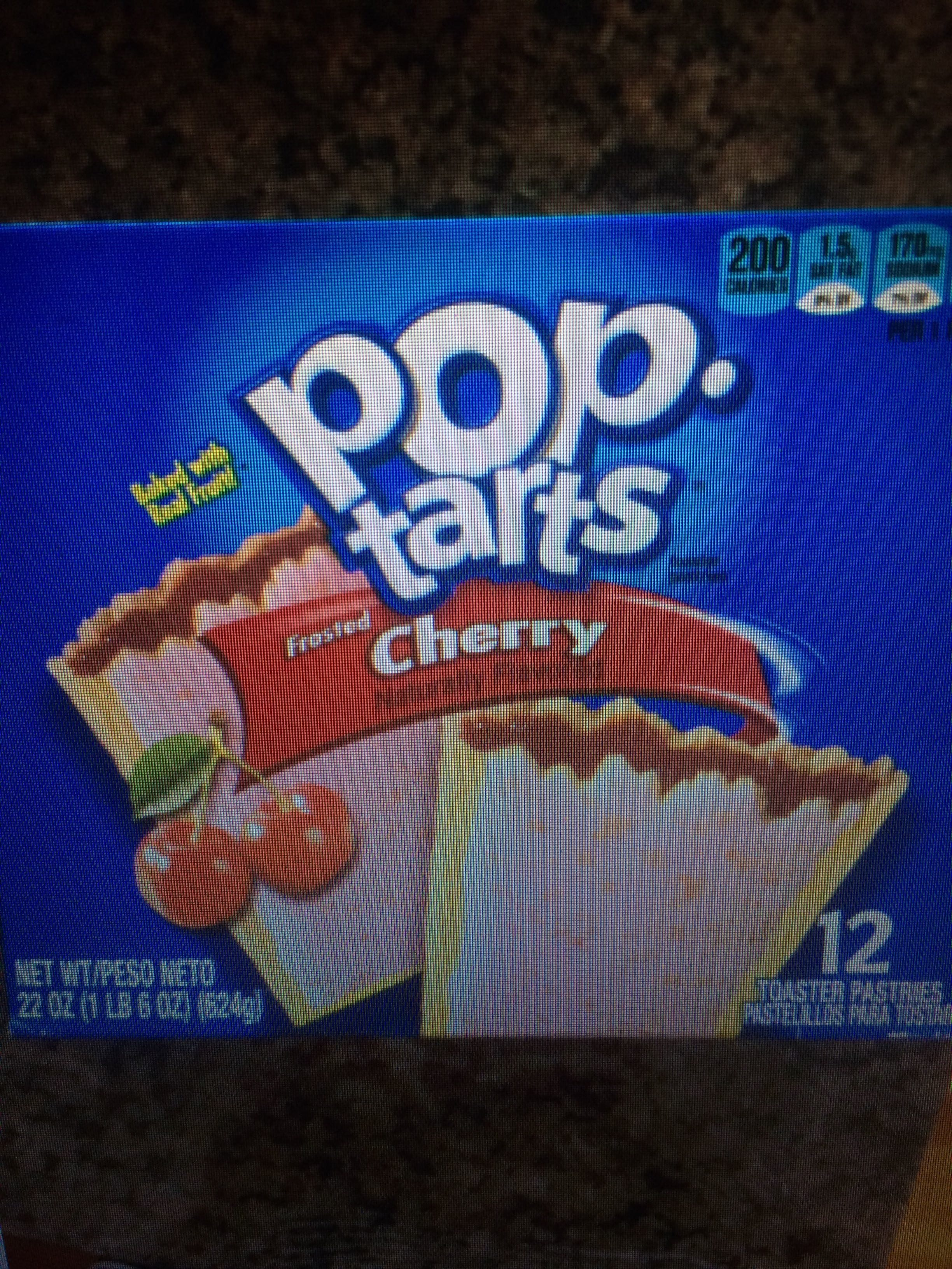 Cherry Pop Tarts - Product