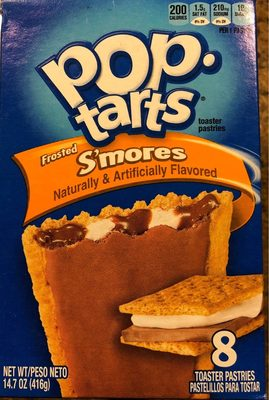 Frosted s'mores toaster pastries, frosted s'mores - Product - en