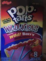 Pop Tarts Wildlicious Frosted Wild Berry - Produit