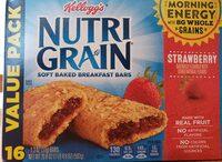 Soft baked bars, strawberry - Produit - en