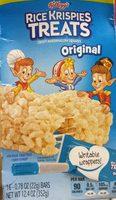 Crispy marshmallow squares bars, original - Product - en