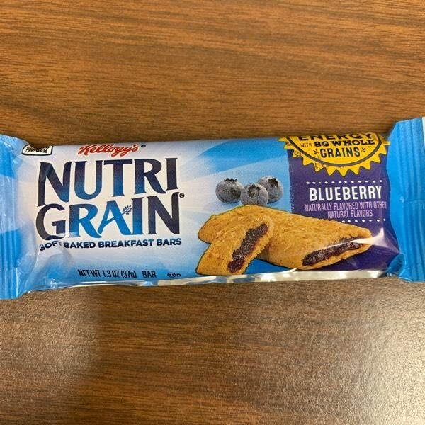 Kellogg's Nutri-Grain Cereal Bars Blueberry 1.3oz - Product - en