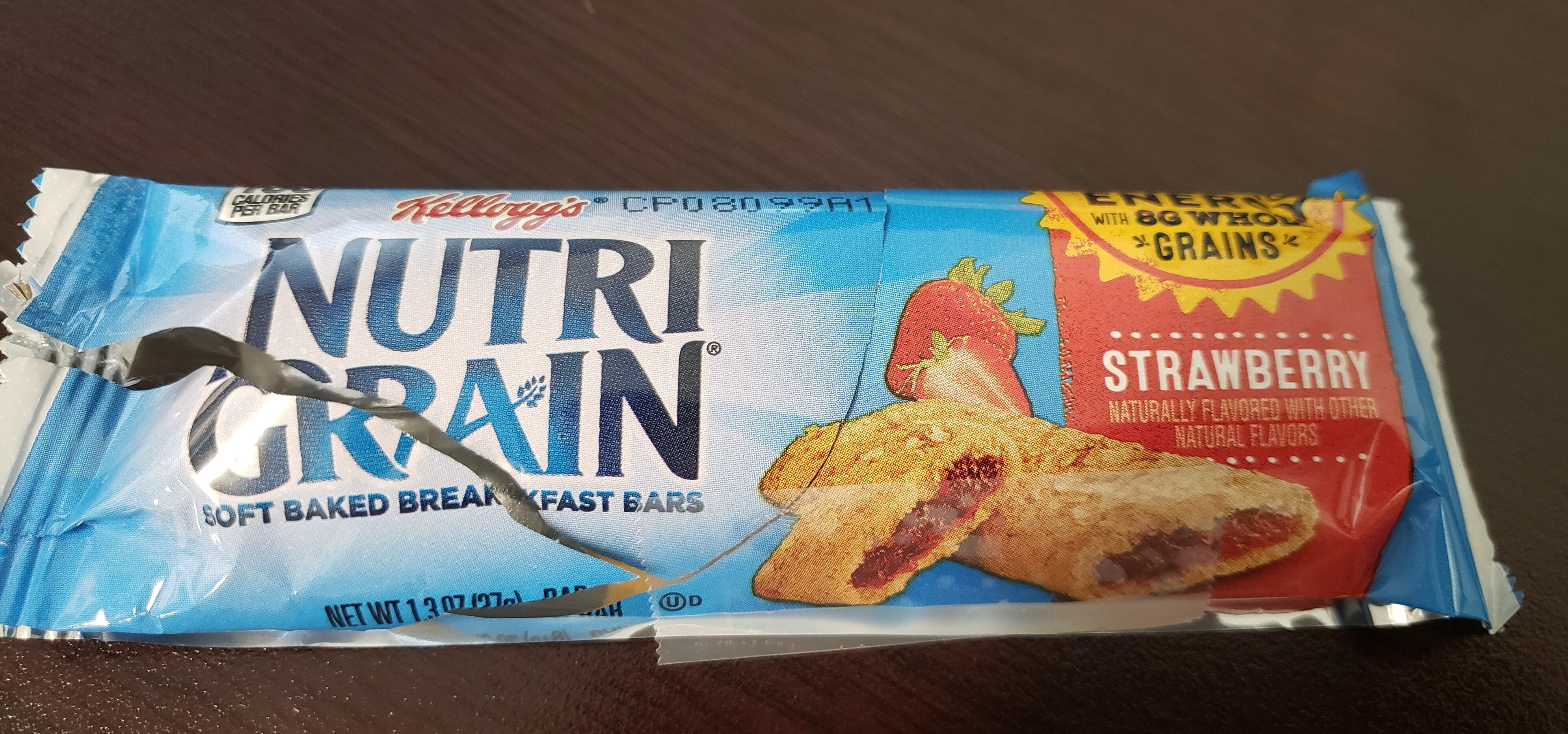 Kellogg's Nutri Grain Soft Baked Breakfast Bars Strawberry - Product