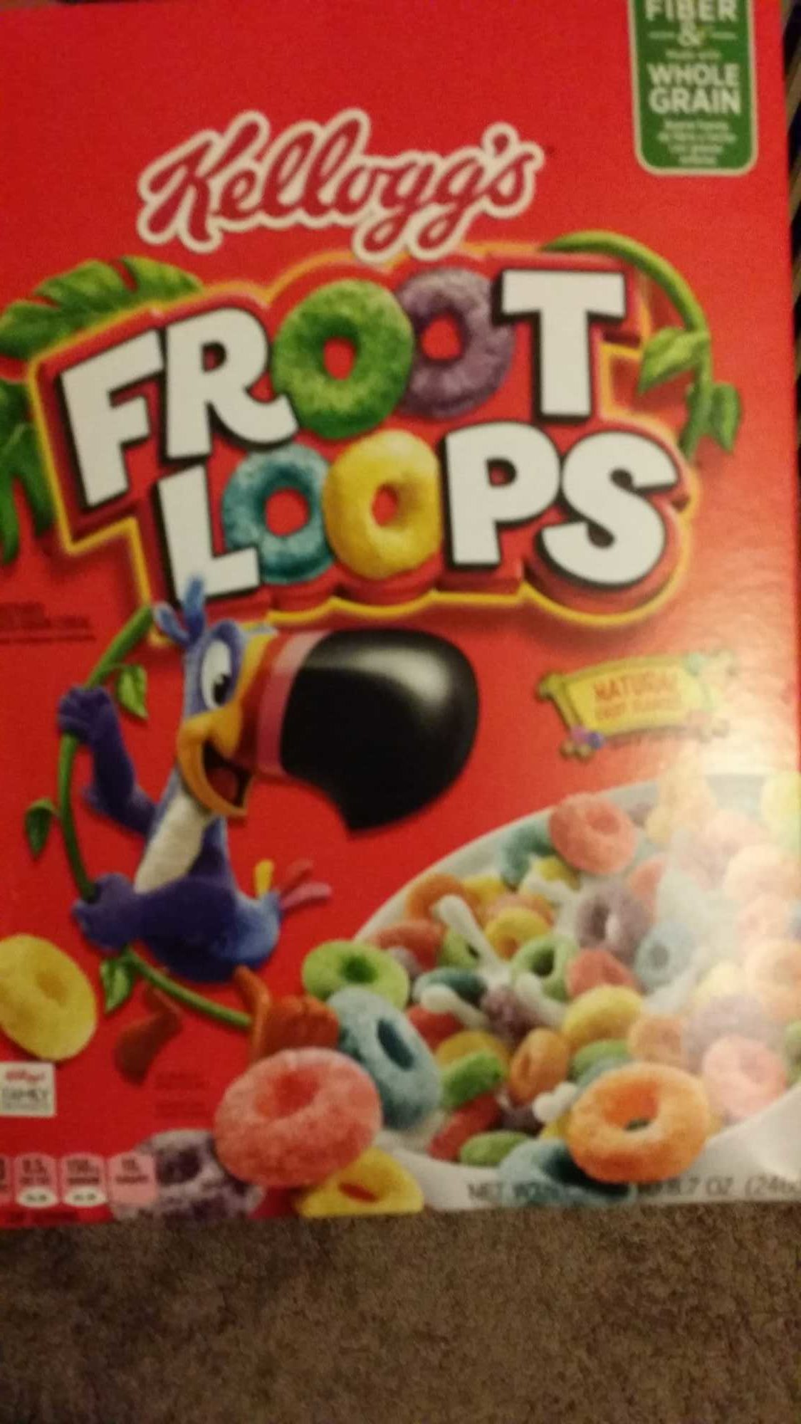 Kellogg's Froot Loops Cereal - Produit