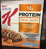 Protein meal bars, chocolate caramel - Product - en