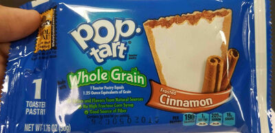 Toaster pastry, frosted cinnamon - Product - en