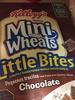 Kellogg's, mini wheats, lightly sweetened whole grain cereal, little bites, chocolate - Product