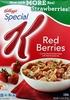 Cereal, red berries - Produit
