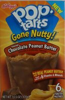 Toaster pastries, frosted chocolate peanut butter - Product - en