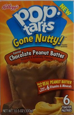 Pop.Tarts Gone Nutty Chocolate - Produit