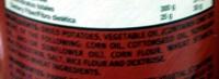 Pringles Original - Ingredients