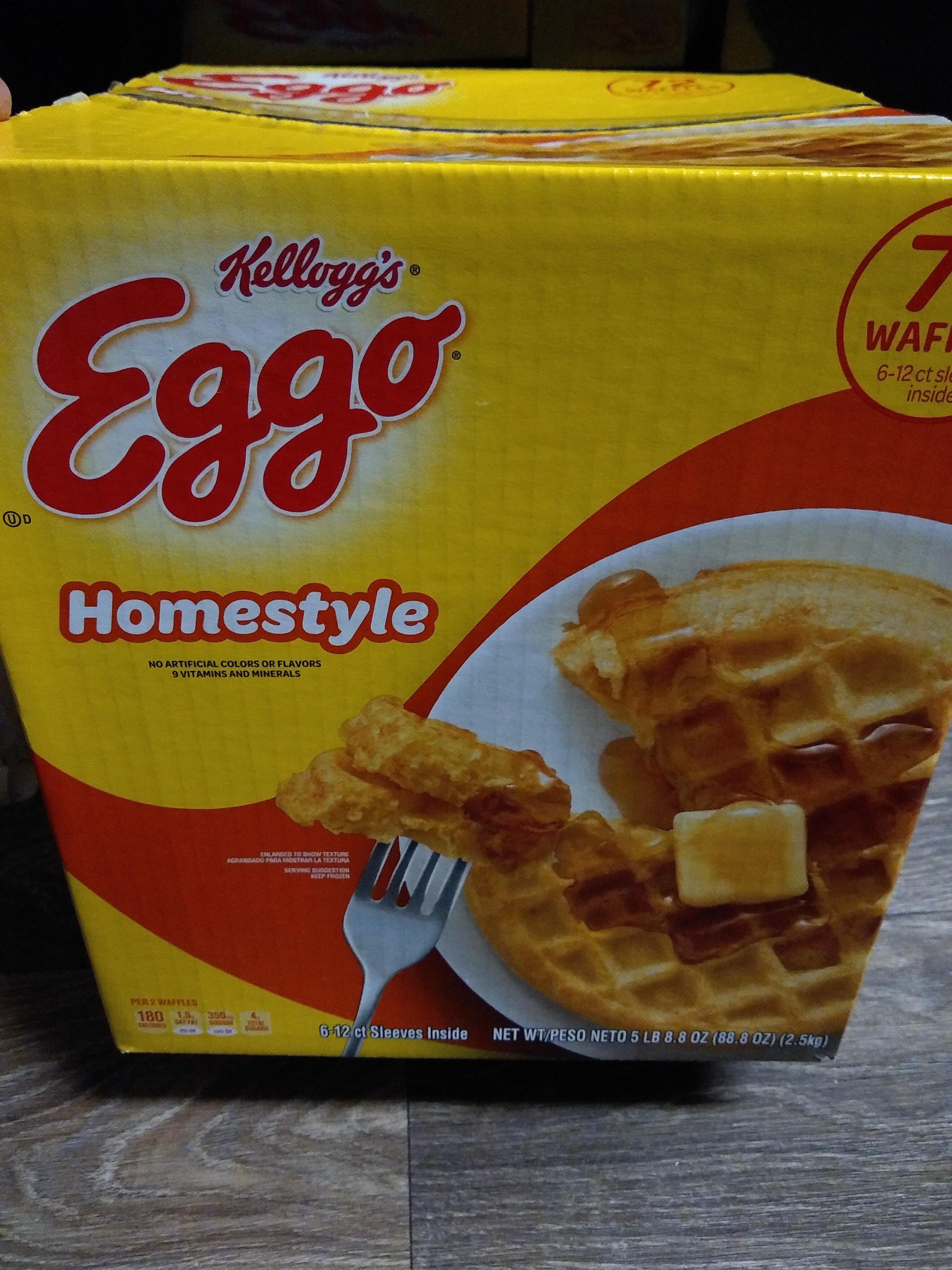 Eggo waffles - Product - en