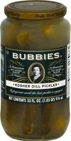 Pure kosher dill pickles - Product - en
