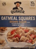 Oatmeal Square Brown Sugar - Producto - es