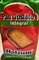 Pan tostado integral - Produit - fr