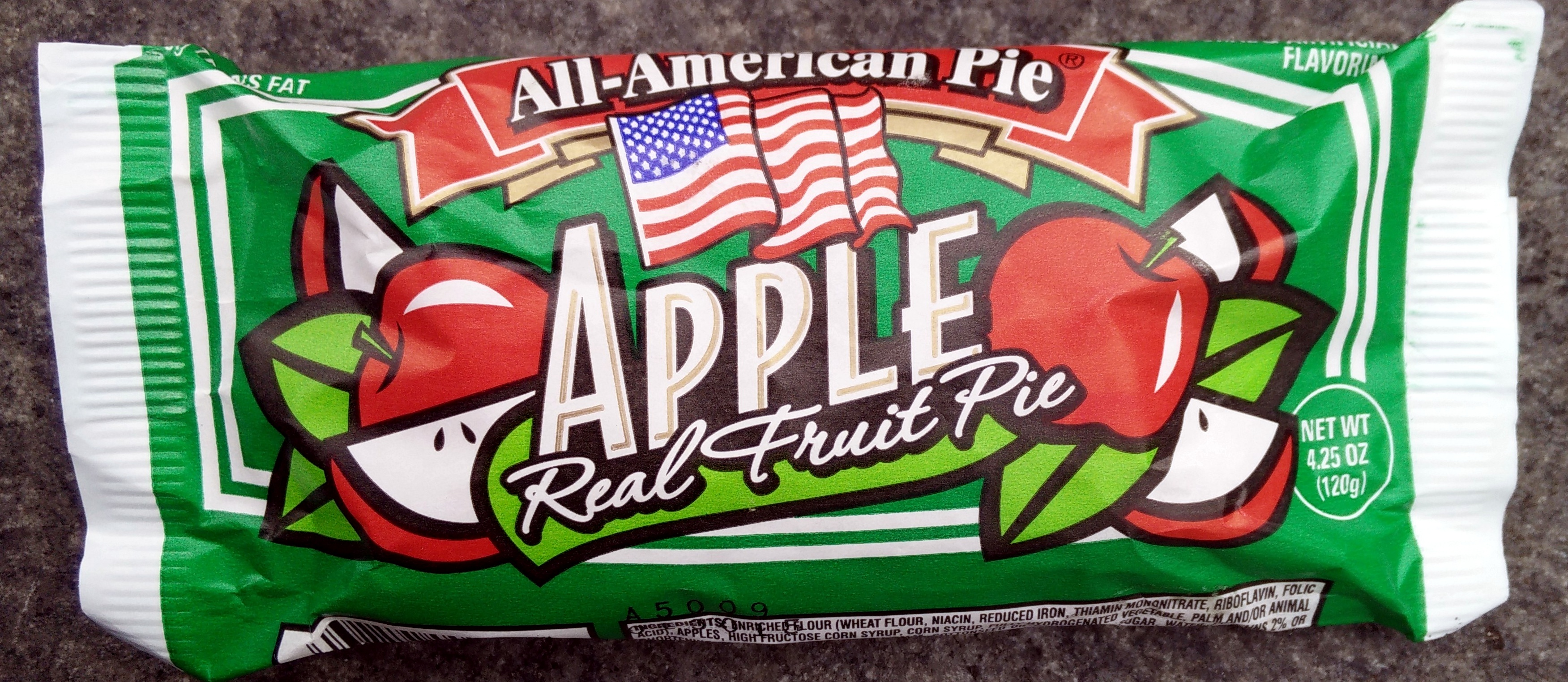 apple real fruit pie - all-american pie