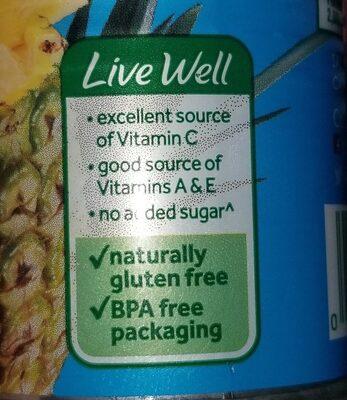 Pinapple juice - Ingrediënten - en