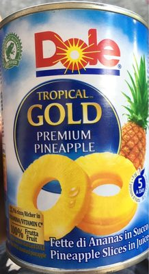 Tropical Gold Ananas 567G Dole - Producte