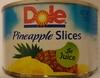 Pineapple slices in juice - Produit