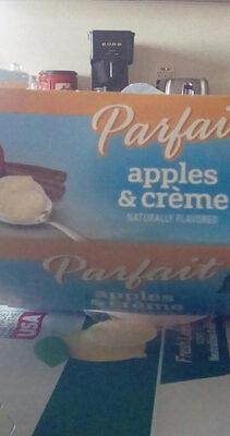 Apples & Creme Parfait - Product