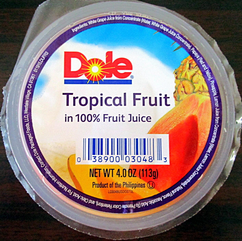 Tropical Fruit - Product - en