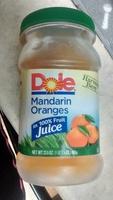 Mandarin oranges in 100% fruit juice - Product