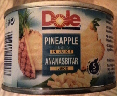 Ananasbitar i juice - Produit - sv