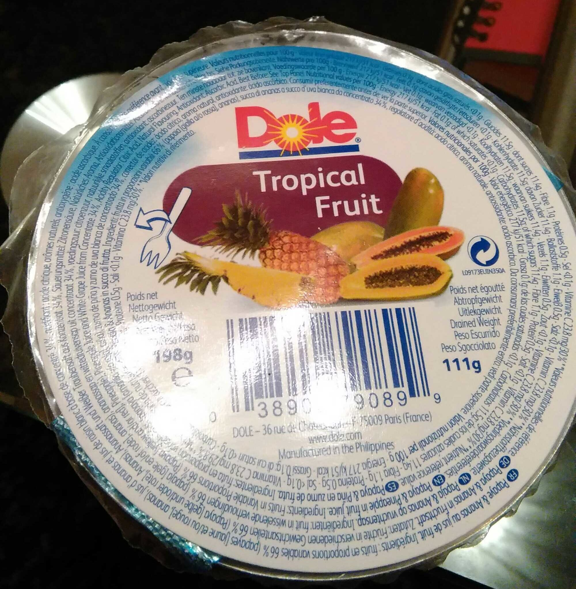 Tropical fruit - Produit - fr