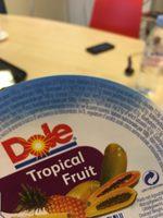 Tropical fruit - Ingrédients - fr