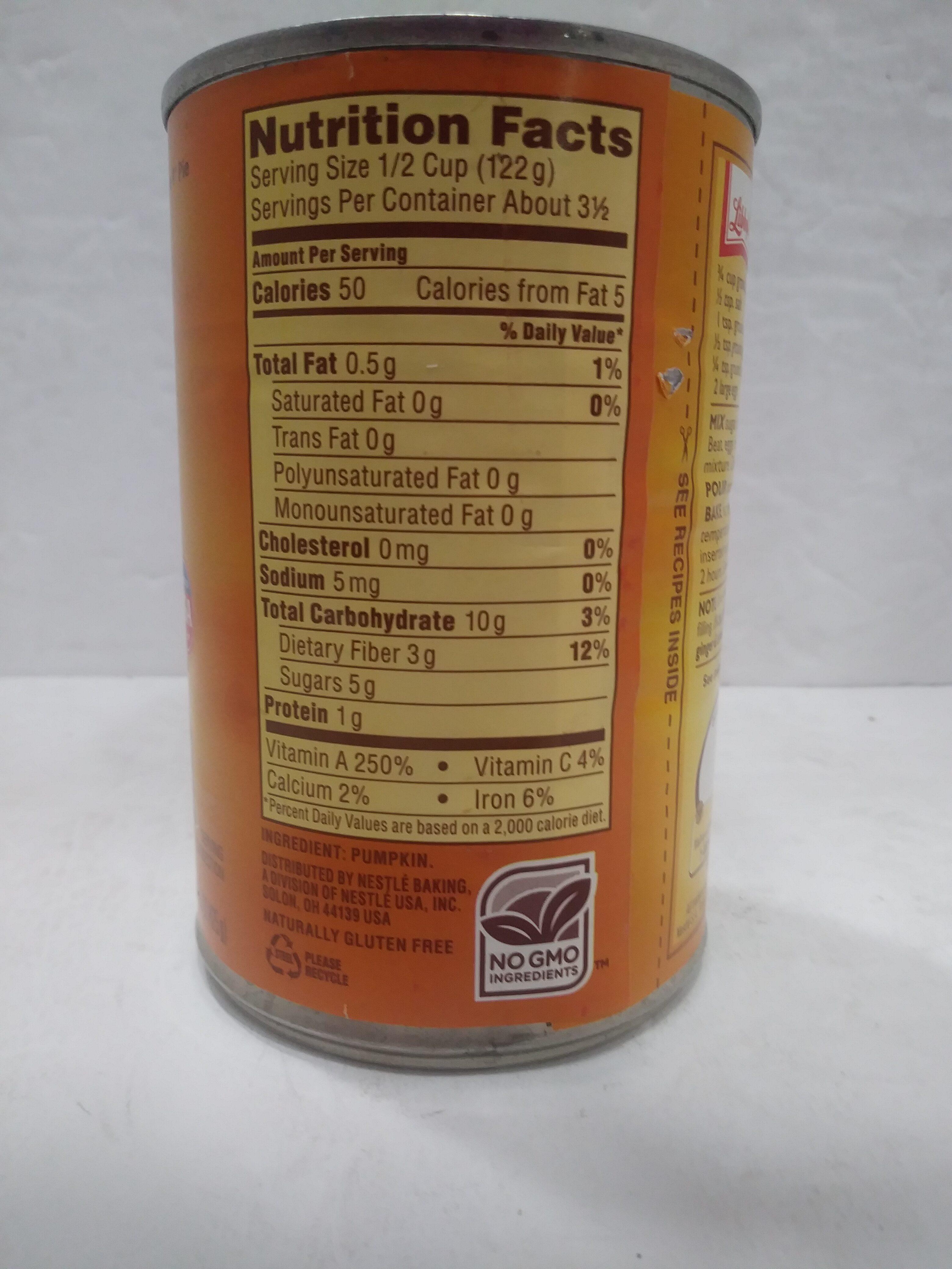 Pumpkin - Ingredienti - en