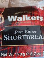 walkers shortbread - Product - en