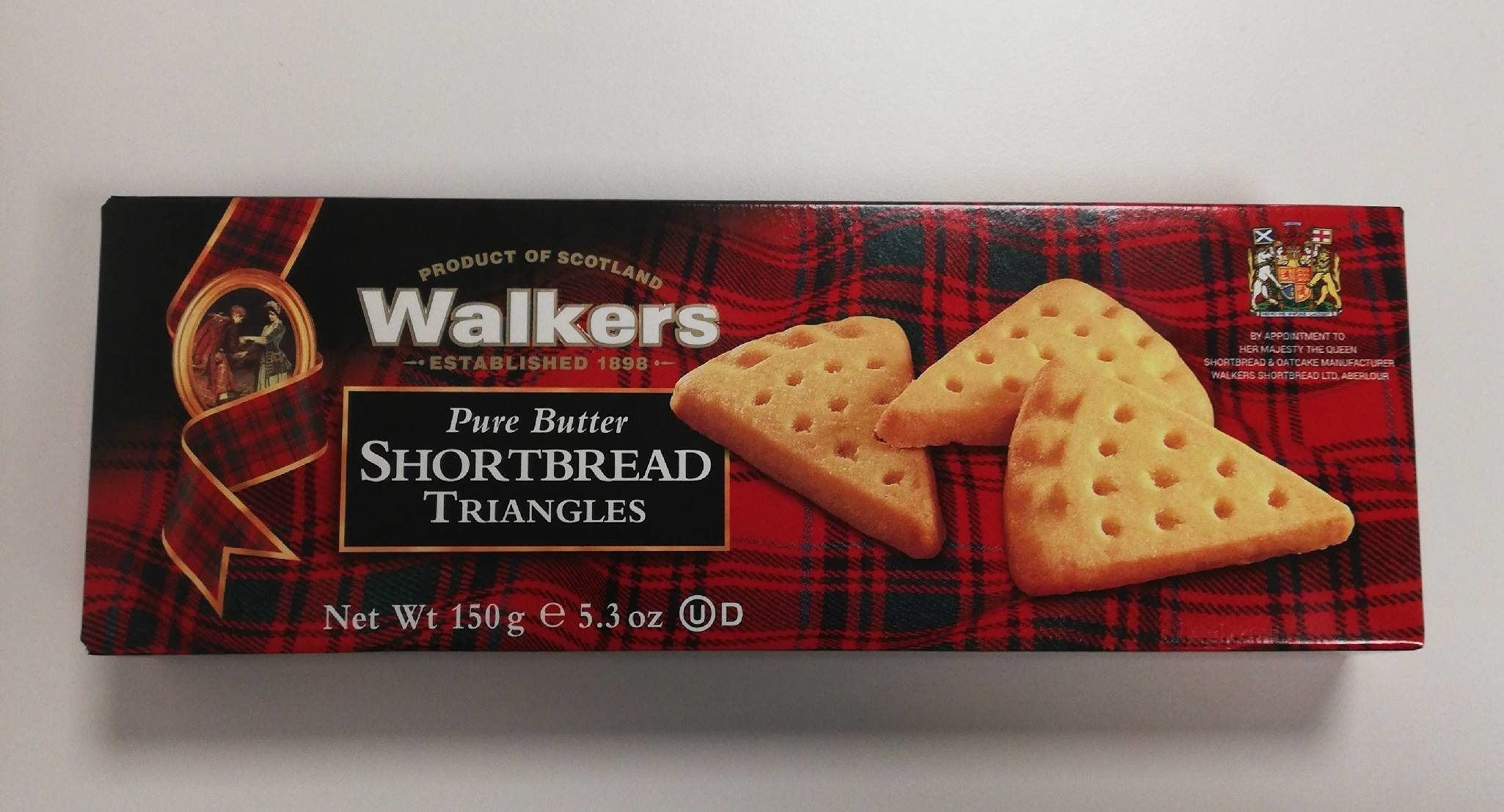 Shortbread Triangles - Product - fr