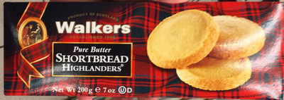Pure Butter Shortbread Highlanders - Product