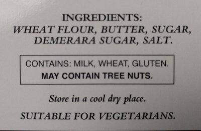 Pure Butter Shortbread Highlanders - Ingredients - en