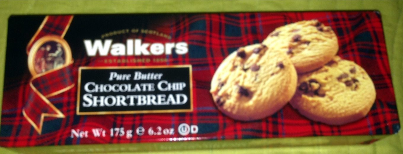 Walkers Chocolate Chip Shortbread - Prodotto - fr