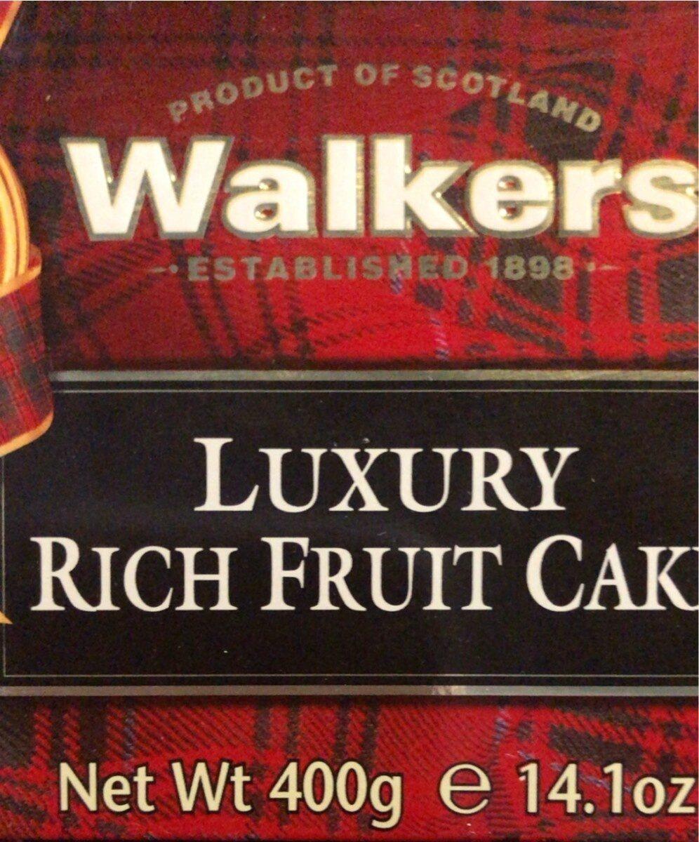 Luxury rich fruit cake - Product - fr