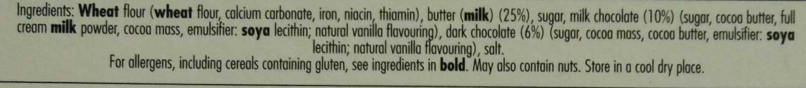 Luxury Shortbread Selection - Ingredients - en