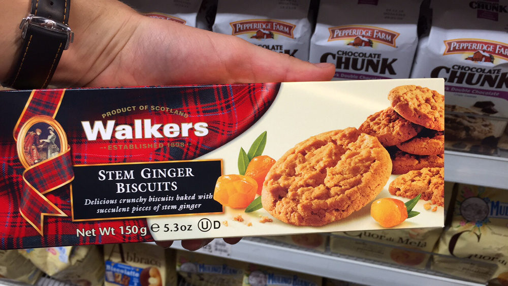 Stem ginger cookies - Product - fr