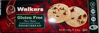 Gluten Free Chocolate Chip Shortbread - Product