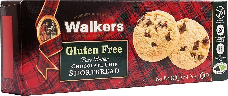 Shortbread glutenfree chocolate chip shortbread - Prodotto - en