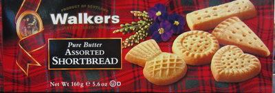 Assorted shortbread - Product - en
