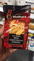 Pure Butter : Mini Shortbread Fingers - Product