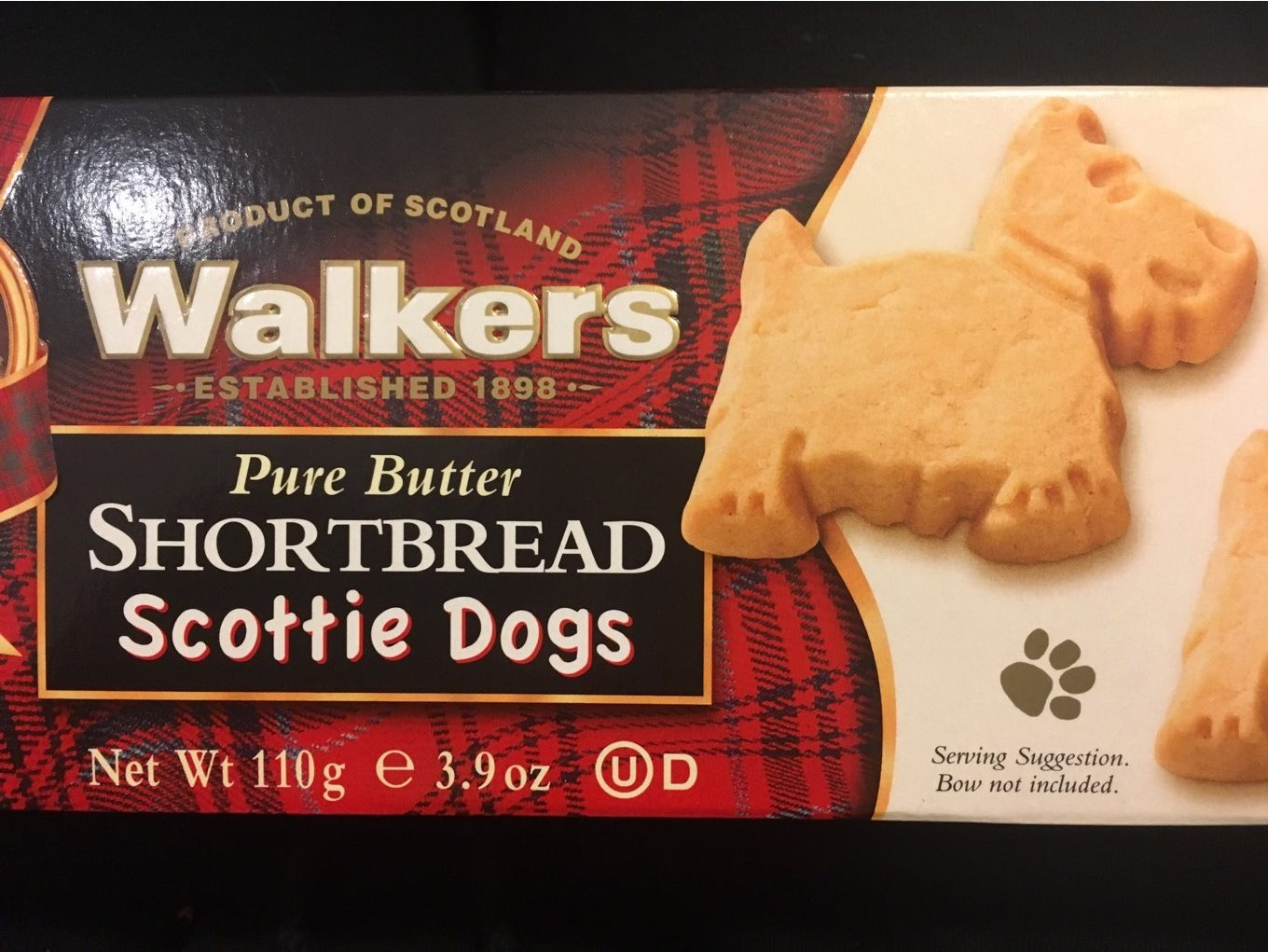 Pure butter scottie dogs - Product - en