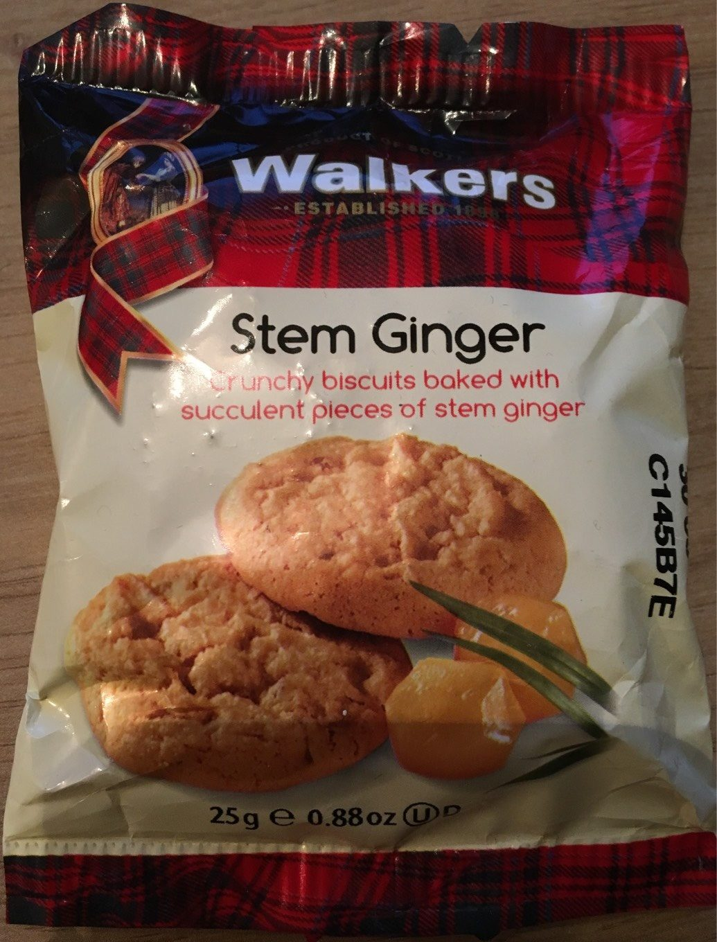 Walkers Stem Ginger - Nutrition facts