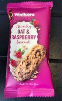 Oat & Raspberry Biscuit - Produit - fr