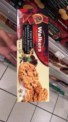 Choc Chip Granola Biscuits - Produit