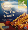 Fruit Crumble Biscuits - Produit