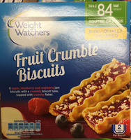 Fruit Crumble Biscuits - Product
