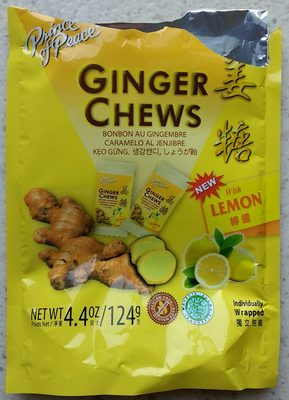 Ginger Chews - Product