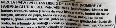 Pancake Mix - Ingredients